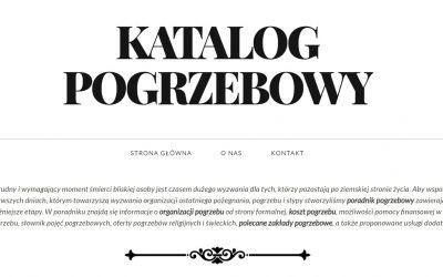 Katalog Pogrzebowy – Gazeta funeralna w Internecie