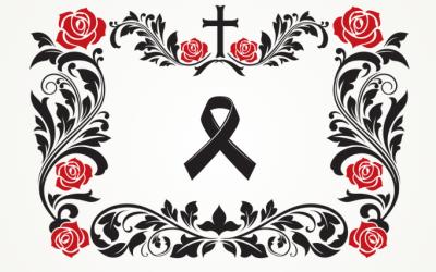E-nekrologi i transmisje na stronie zakładu pogrzebowego Róża